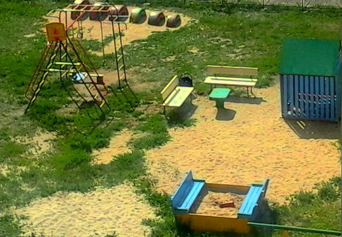 Детские площадки в наших дворах_2